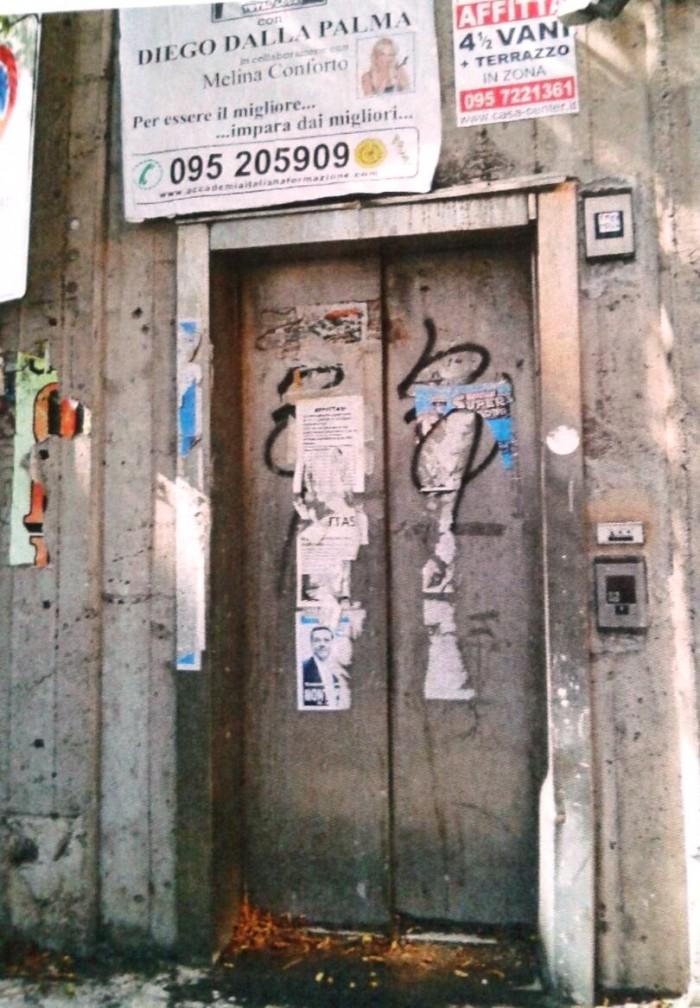 Ascensore della metropolitana (foto dossier S.istema M.obilità)