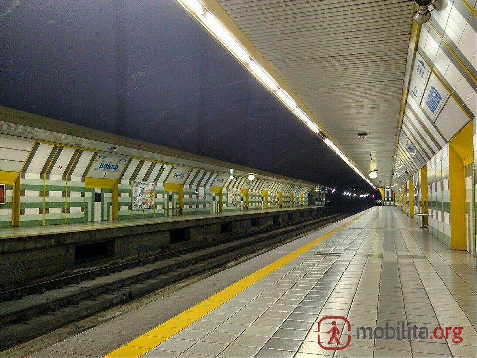 Stazione Borgo della metropolitana