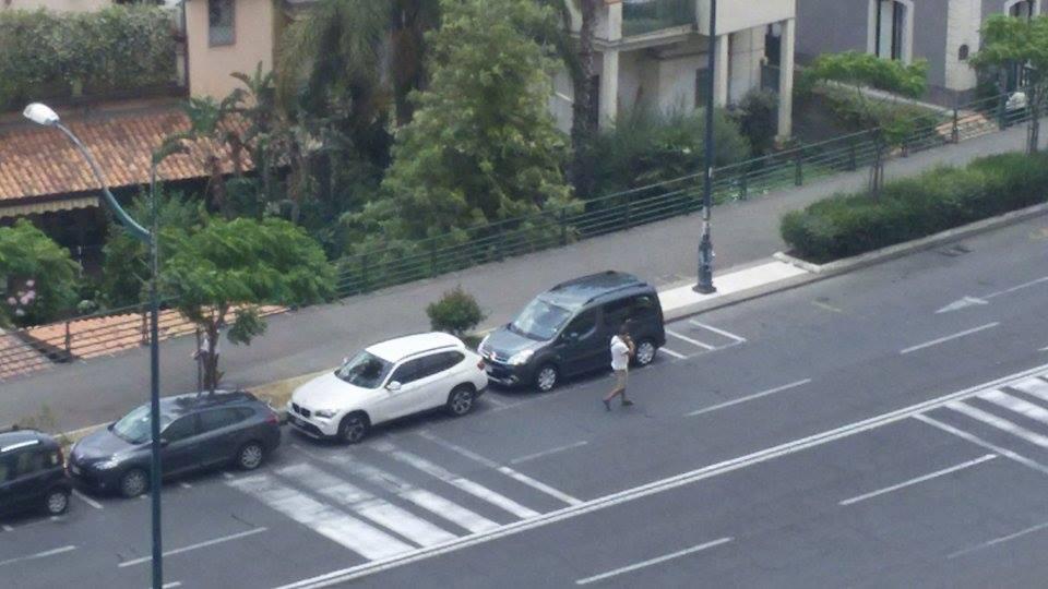 Lungomare parcheggiatore