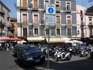 Area pedonale catania