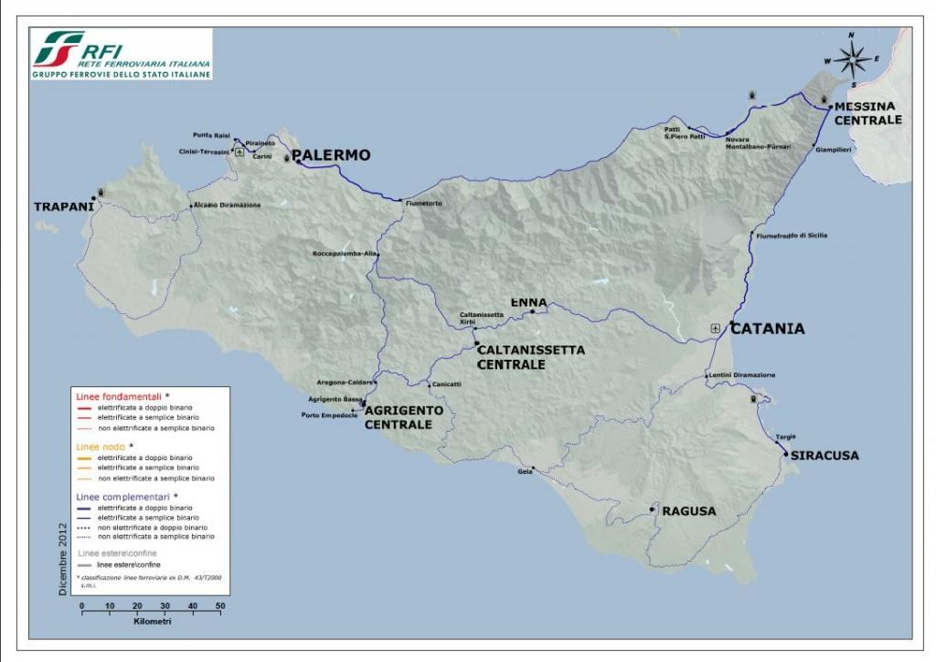 rete ferroviaria siciliana