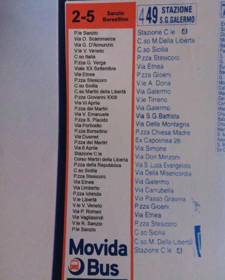 movidabus percorso