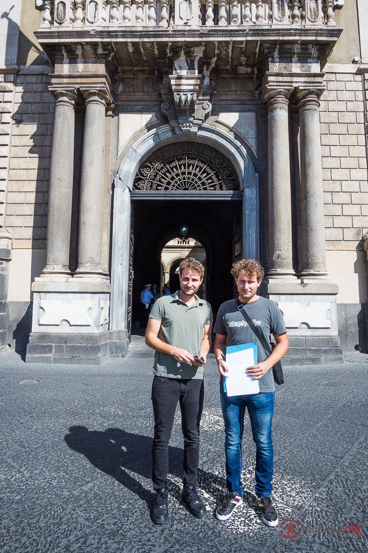 Petizione Piazza San Francesco D'Assisi