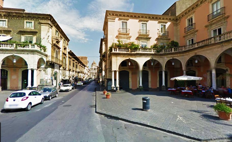 piazza Mazzini Catania