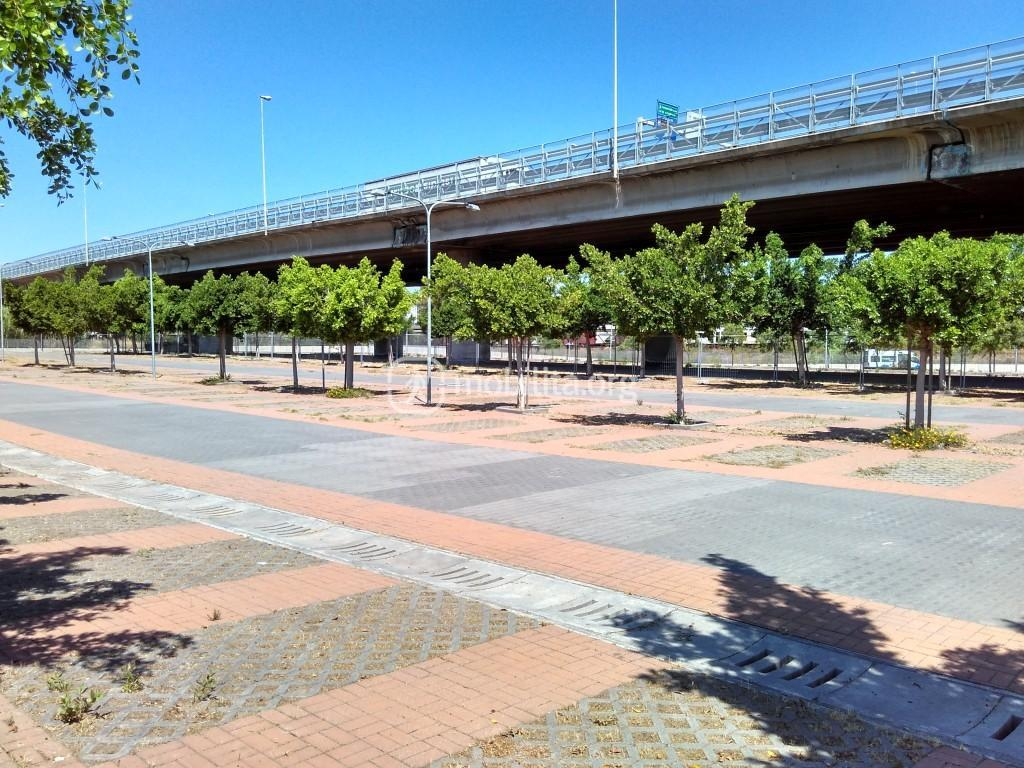 Parcheggio Fontanarossa: area adibita al mercato