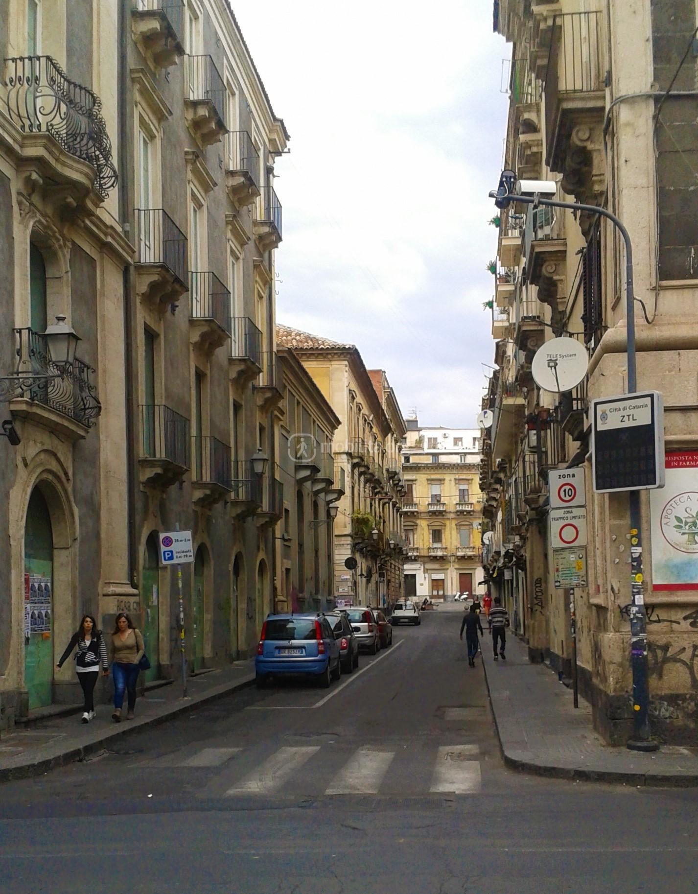Telecamera di Via Landolina incrocio nord con via Vittorio Emanuele