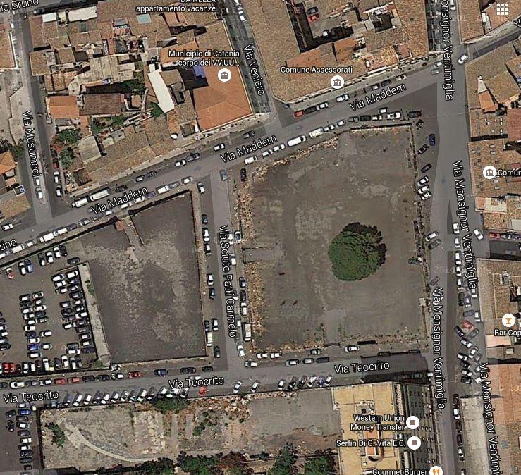 Area destinata a parcheggio gestito da Sostare
