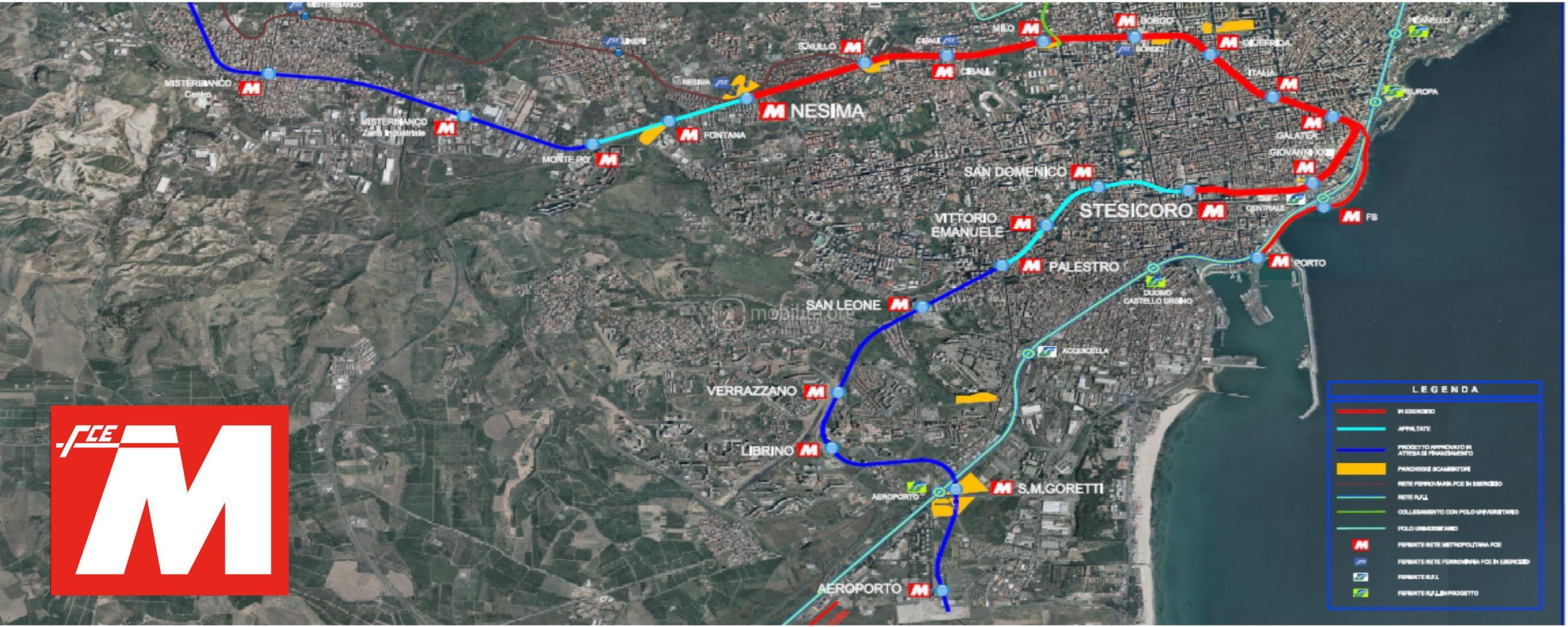 Imprese Di Costruzioni Catania metropolitana di catania: storia e sviluppi futuri