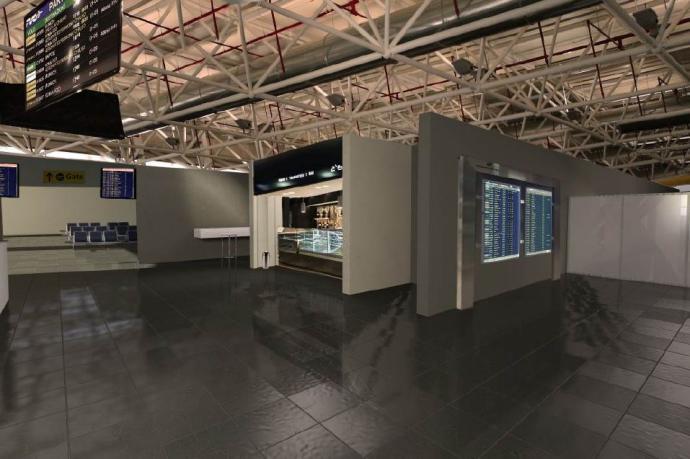 "Interno Terminal C. Fonte ""La Sicilia"""