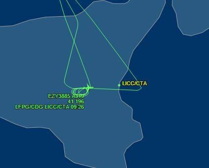 Tracking in tempo reale dei voli