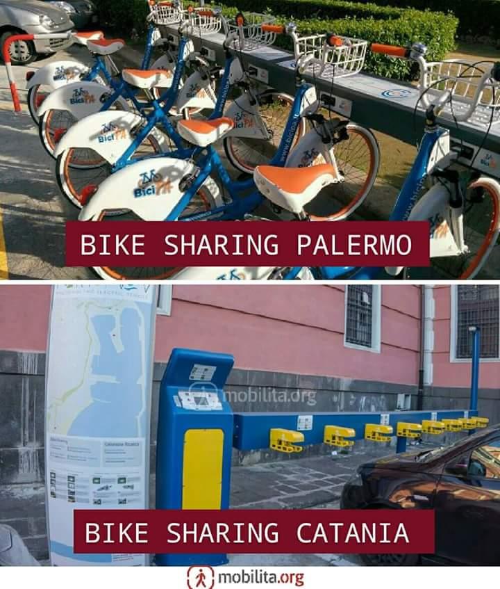 bike sharin palermo catania