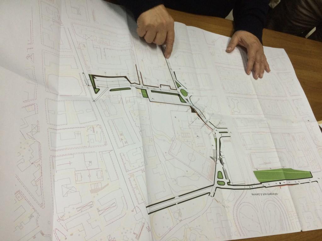 Progetto del sottopassaggio di via Castorina, fonte SudPress