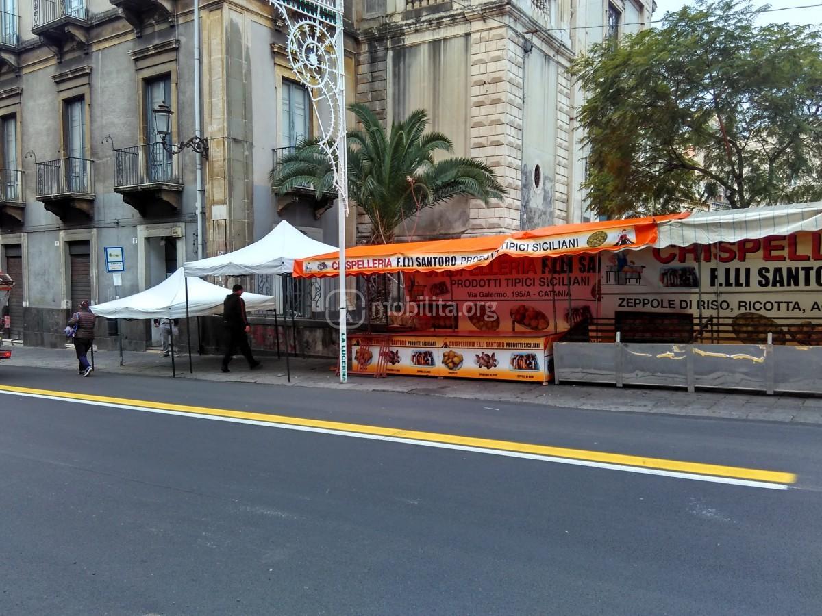 Via Etnea - piazza Cavour