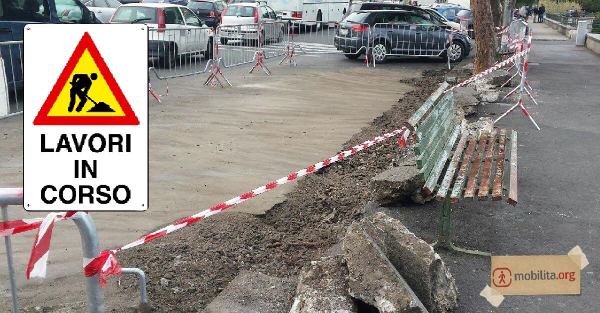 Lavori stradali e divieti ciclabile asec enel e sidra for Ufficio decoro urbano catania