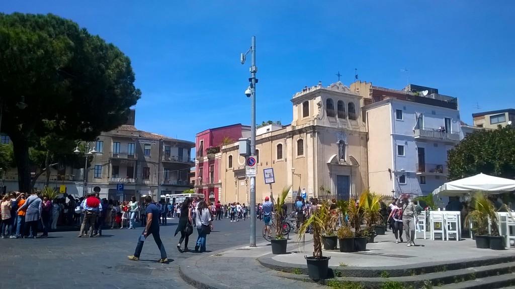 piazza Federico di Svevia Catania_ Castello liberato
