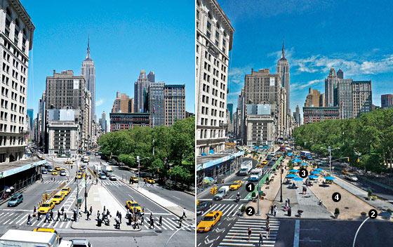 Madison Square Garden (New York)  prima e dopo