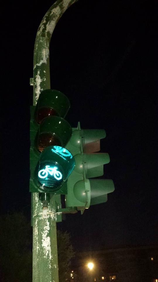 Semaforo bici Lungomare
