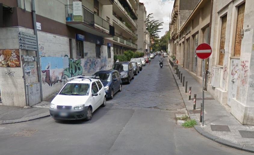 Senso modificato in via morosoli disagi e rischio for Ufficio decoro urbano catania