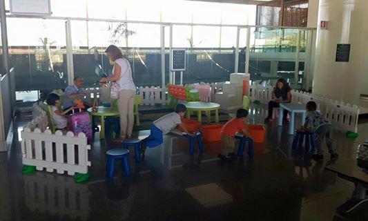 area  giochi aeroporto