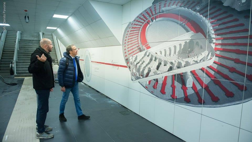 Stazione Stesicoro della metropolitana, soddisfazione di Faisa/Cisal e Fast/Confsal
