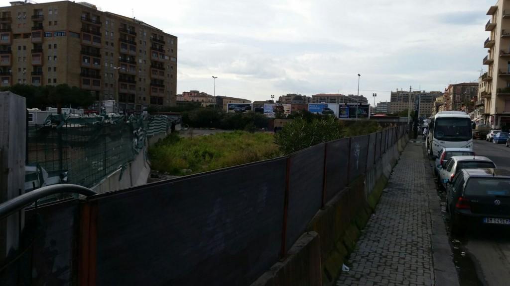 """Area che farà parte del progetto """"Corso Martiri della Libertà"""""""