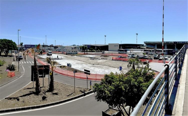 Area d'intervento del nuovo parcheggio. Foto di Hecmar