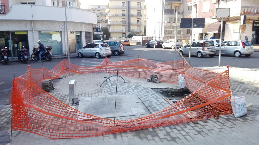 Casa dell'acqua in piazza Aldo Moro, Catania