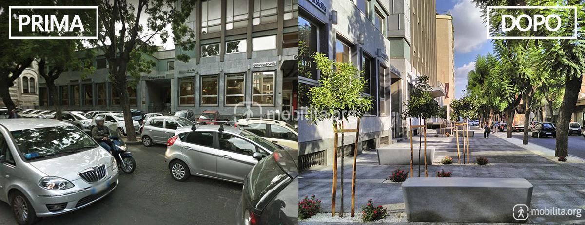 Foto via sant euplio da un parcheggio abusivo a uno for Affitti catania privati non arredati
