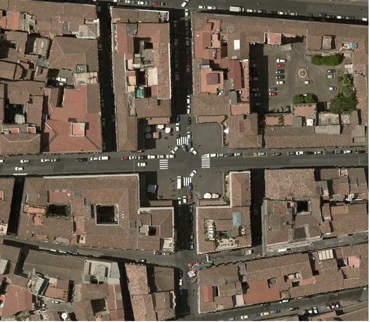 Piazza Mazzini, com'è