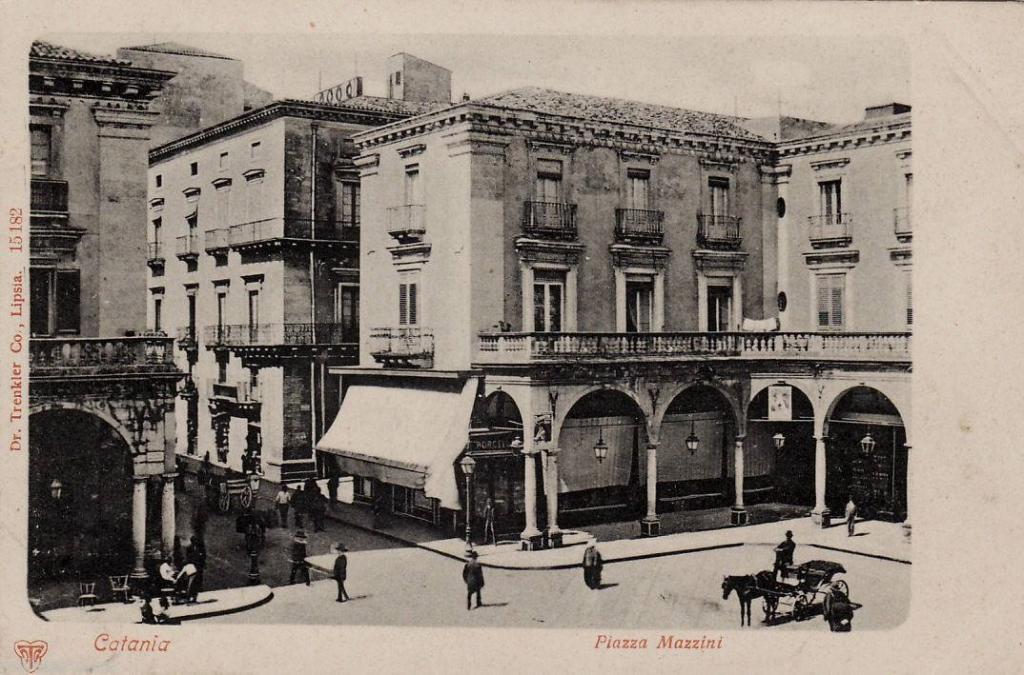 Piazza Mazzini, fine '800