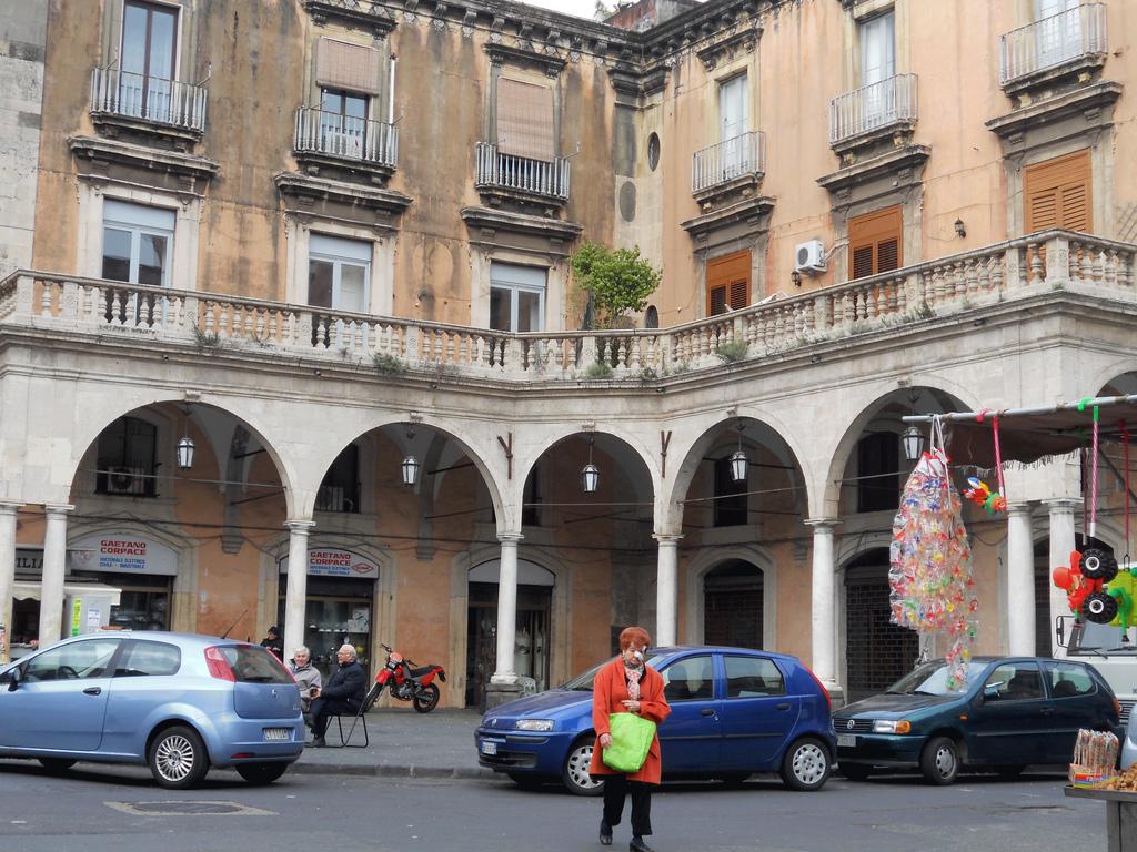 Un angolo di piazza Giuseppe Mazzini, oggi