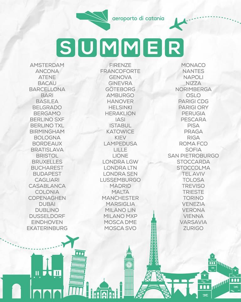 summer 18 catania