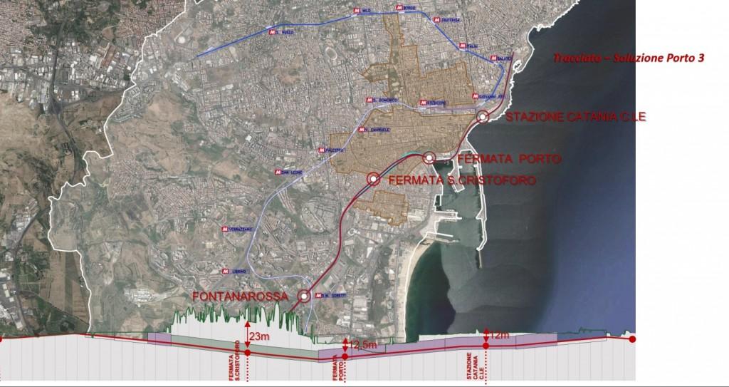 Variante Porto 3 approvata dal Comune di Catania