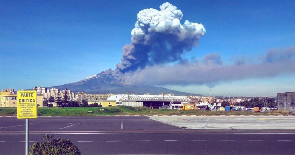 Etna, chiuso nuovamente aeroporto Fontanarossa$