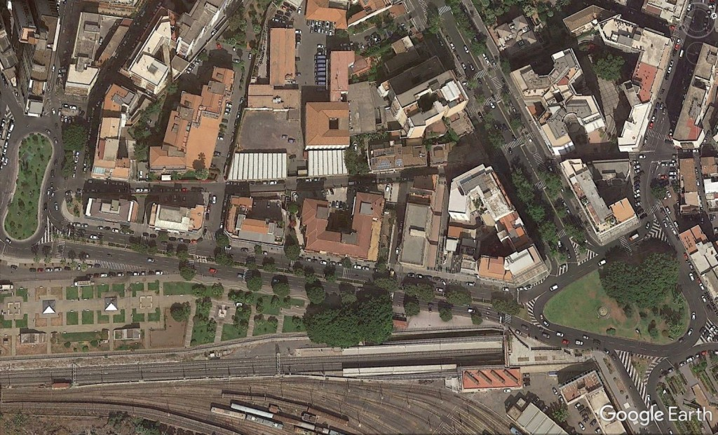 da Piazza Galatea a piazza Europa-prima