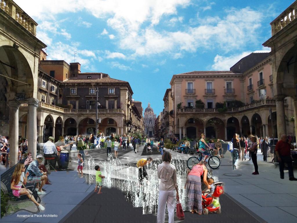 Piazza Mazzini dopo
