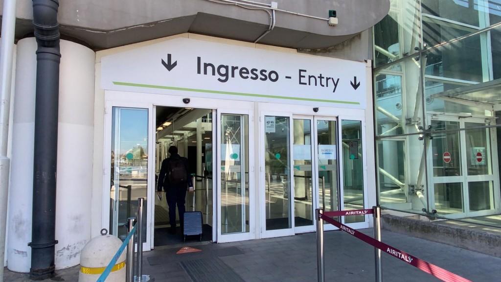 aeroporto catania covid